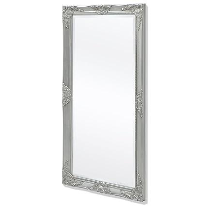 vidaXL Specchio da Parete a Muro Stile Barocco con Ganci 120x60 cm ...