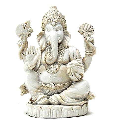 (Bellaa 22197 Ganesh Statues Hindu Good Luck God 3