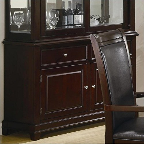 Dining Room Walnut Hutch (Coaster Ramona Dining Room Buffet in Walnut Finish)