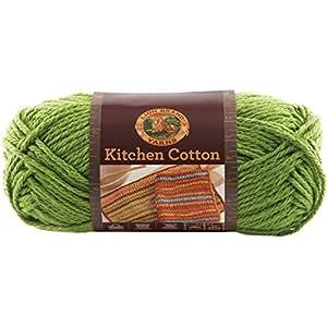 Lion Brand Yarn 831 130 Kitchen Cotton Yarn Snap Pea