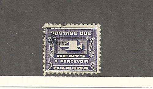 Canada, Postage Stamp, J13 Used, 1933 Postage Due