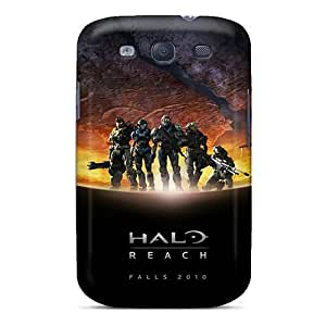POT4208TAMe Anti-scratch Case Cover Hotcat Protective Halo Reach Case For Galaxy S3