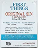 img - for First Things (Number 87, November 1998) book / textbook / text book