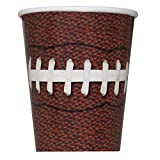 9oz Football Party Cups, 8ct
