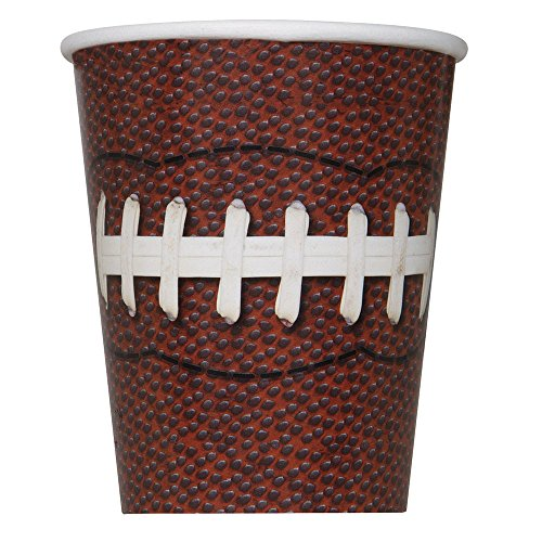 9oz Football Party Cups 8ct