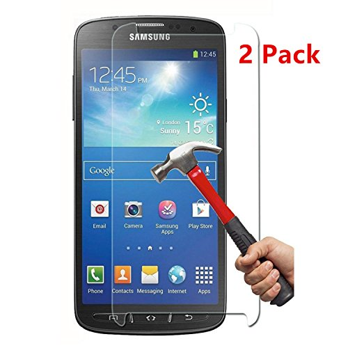 Tempered Glass Screen Protector for Samsung Galaxy S4 - 5