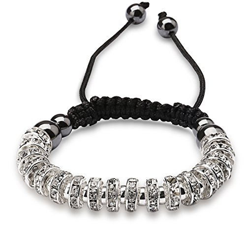 I love this Shambala type bracelet, lots of sparkle, lots of compliments!