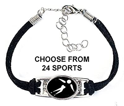 (Choose from 24 Sports) Includes Golf, Figure Skating, Fitness, Swim, Tennis, Skiing, Rugby Bracelet