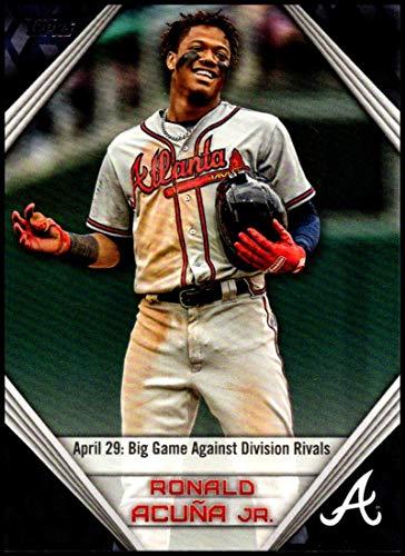2019 Topps Star Players Highlights #RA-17 Ronald Acuna Jr. NM-MT Atlanta Braves Official MLB Baseball Trading ()