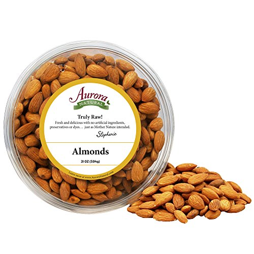 Aurora Natural Products Almonds, 21 Ounce by Aurora Natural