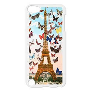 [Tony-Wilson Phone Case] FOR Ipod Touch 5 -IKAI0447137-Paris Eiffel Tower