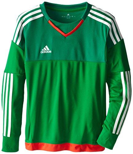 Adidas Goalkeeping Jersey - adidas Performance Youth Top Goalkeeping Jersey, Medium, Green/Twilight Green/Legacy