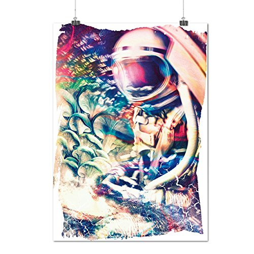 [Crazy Spaceman Petal Epic Print Matte/Glossy Poster A2 (17x24 inches) | Wellcoda] (Spaceman Suit Costume)