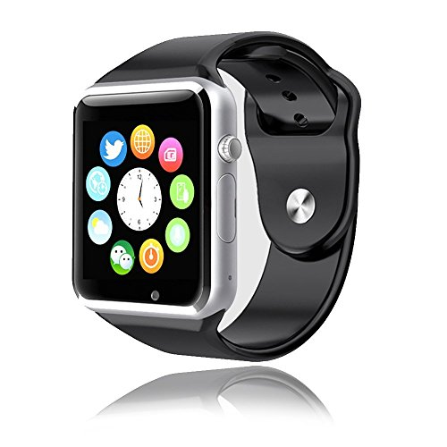 Frelop Bluetooth Smart Watch with SIM Card Slot, Camera and NFC (Technology compare prices)