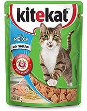 Ração Úmida Kitekat Sachê para Gatos Adultos