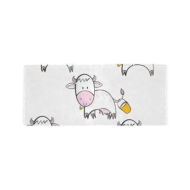 Amazon.com: Blanca de nieve con diseño de vaca de leche fría ...