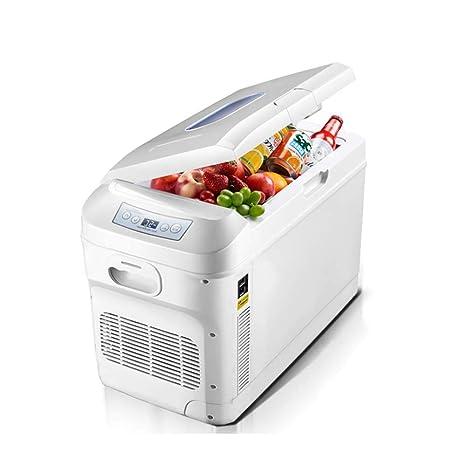 Refrigerador de 28 litros de doble núcleo Refrigerador de auto ...