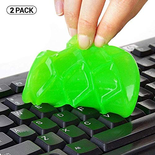 ULTRICS Keyboard Dust Cleaner, Magic Sticky Gel Putty Soft Flexible Cleaning Kit for PC Computer Laptop MacBook Remote…