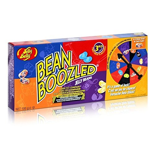 NEW 3rd Edition Bean Boozled Jelly Beans With Spinner Wheel