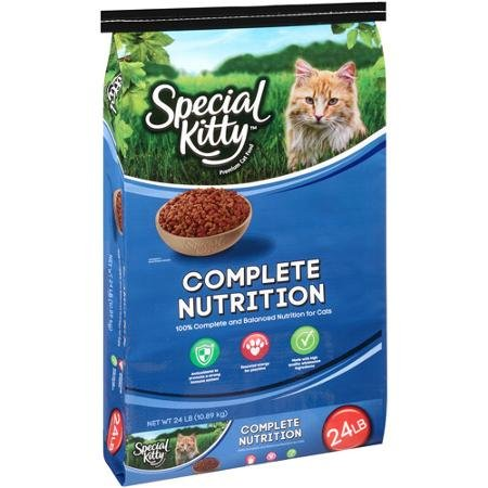 Special Kitty 24 Lbs Original Dry Cat Food, Delicious Fla...