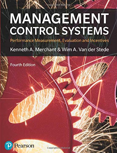 Management Control Systems 4th Edition (4th Edition)