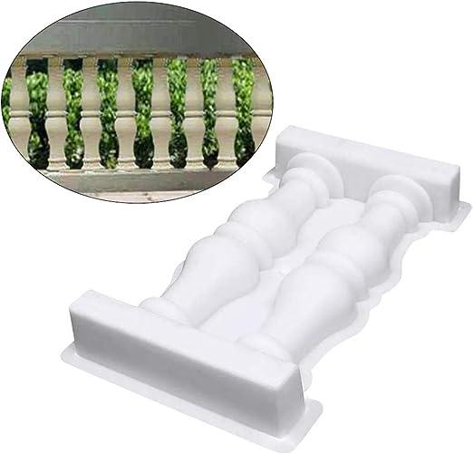 Recinzioni Per Giardino In Cemento.Faderr Stampo Per Recinzioni A Colonna Romana 28 X 50 Cm Per