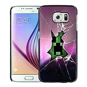 For Samsung Galaxy S6,Minecraft 107 Black Case Cover For Samsung Galaxy S6