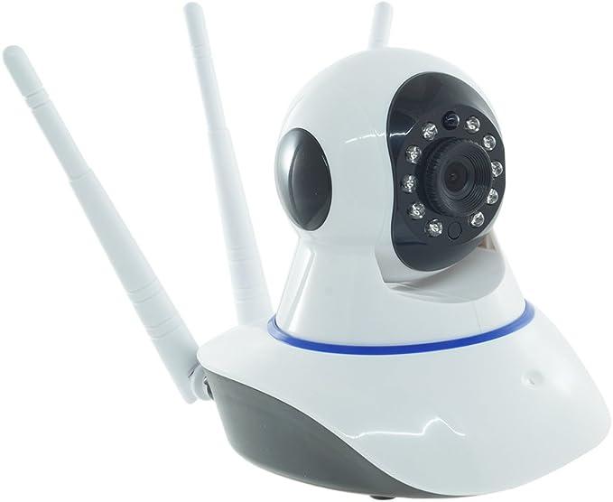 Cámara IP CAM Wireless motorizado Smart WiFi Triple Antena: Amazon.es: Electrónica