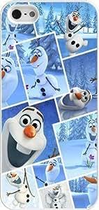 Disney Frozen iPhone 6 plus 5.5 5 Case Cover - Disney Frozen iPhone 6 plus 5.5 5s Hard Plastic Case Cover - White WANGJING JINDA
