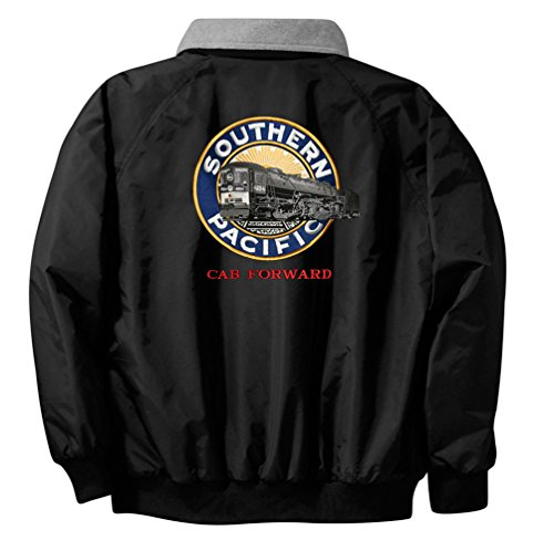 SP Cab Forward Logo Embroidered Jacket Front and Rear Adult L [118r] Black