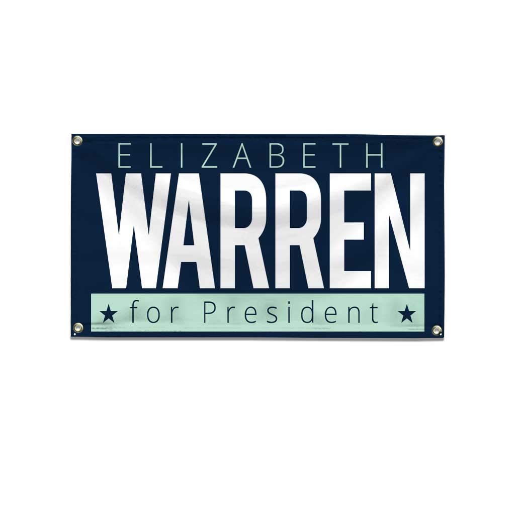 Amazon.com: VictoryStore 2020 Banner: Warren for President ...