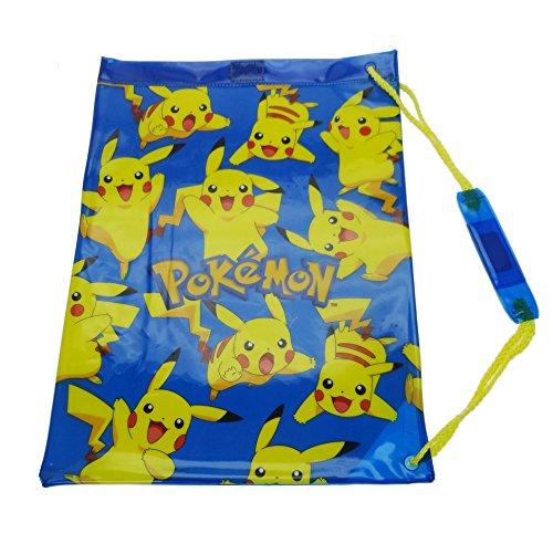 Pokemon Swim Tasche Gym Tote, 43cm, Blau