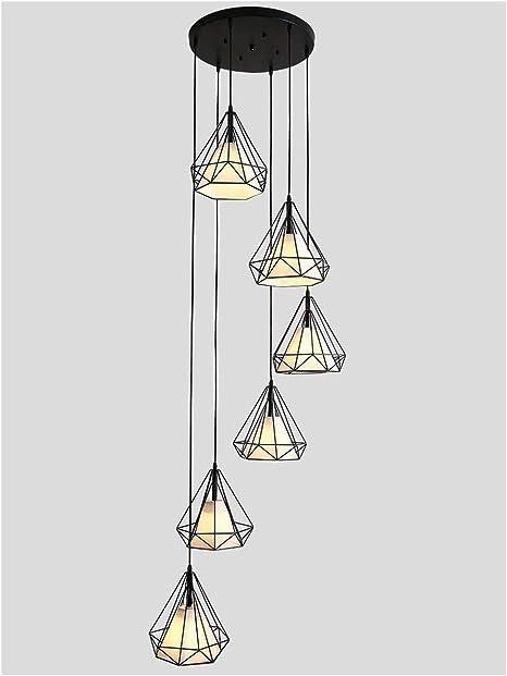 STAGE LIGHTING Colgante de luz LED de 6 luces larga de la lámpara por lámpara del