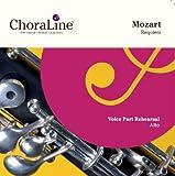 Mozart Requiem ALTO Voice Part Rehearsal CD