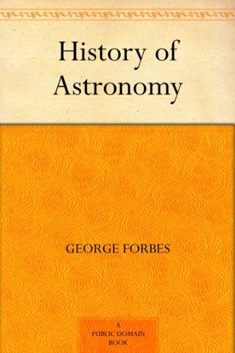 History of Astronomy (English Edition)