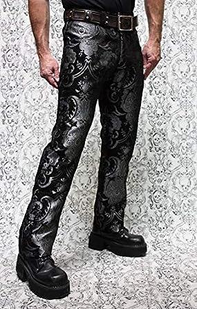 Amazon.com: Shrine - Pantalón de rockero victoriano gótico ...