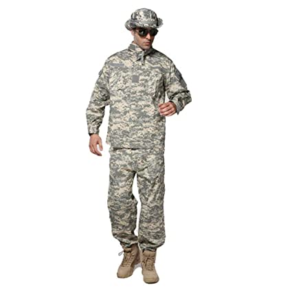Traje táctico de los hombres, traje de combate de camuflaje ...