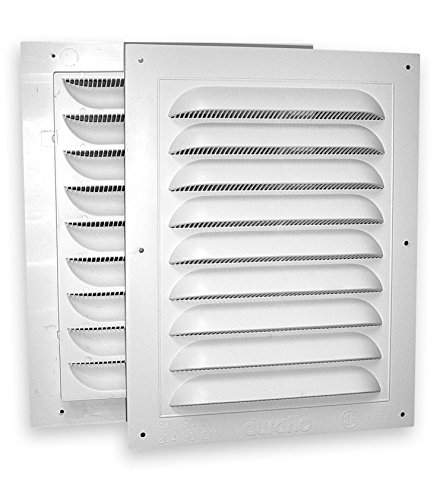 Duraflo 621218COMB Combined Gable Vent, 12-Inch X 18-Inch