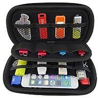 Onwon USB Drive Organizer Electronics Accessories Case Big Capability USB Flash Drives Bag (Black)