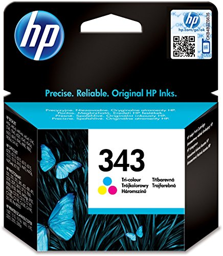 HP 343 Farbe Original Druckerpatronen für HP Deskjet, HP Officejet, HP Photosmart, HP PCS