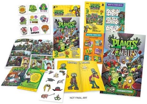 PLANTS VS ZOMBIES MINICOMIC PACK DISPLAY BOX: Amazon.es ...