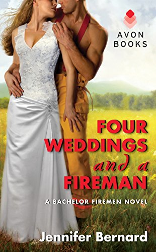 book cover of Four Weddings and a Fireman