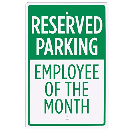 The 10 best teacher of the month parking sign