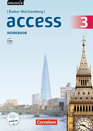 English G Access - Baden-Württemberg: Band 3: 7. Schuljahr - Workbook mit Audios online