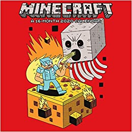 Fiction Trends 2020.Amazon Com Minecraft 2020 Mini Calendar 9781438868776