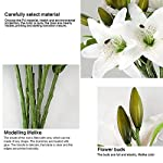 RERXN-Artificial-Tiger-Lily-Flowers-Latex-Flowers-Home-Wedding-Party-DecorPack-of-5