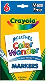 : Crayola Color Wonder Broad Line Markers - 6/Pkg