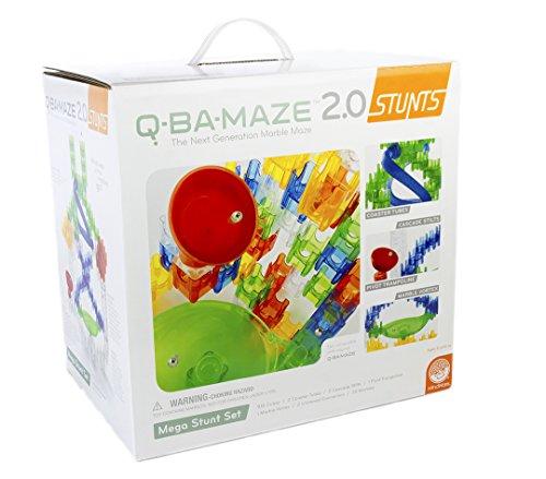 MindWare Q-BA-MAZE 2.0 Stunt Set (Mega Stunt 144 piece set)