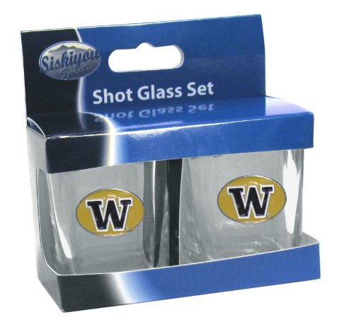 NCAA Washington Huskies Shot Glass Set