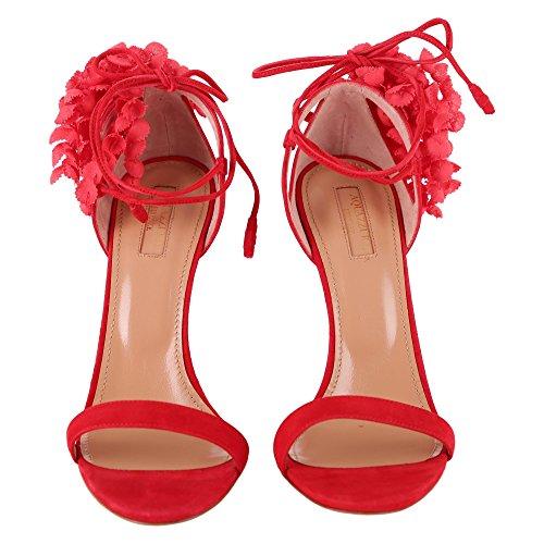 Rouge Escarpins Aquazzura Rouge pour Femme 35 0SBgp